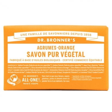 DR. BRONNER'S - Savon Solide Citron-Orange