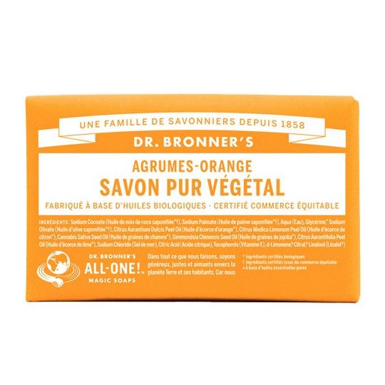Savon Solide Citron-Orange