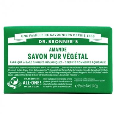 DR. BRONNER'S -  Savon Solide Amande