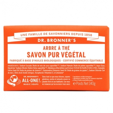 DR. BRONNER'S - Savon Solide Tea Tree