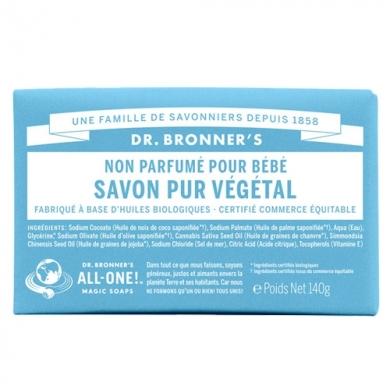 DR. BRONNER'S - Savon Solide Neutre