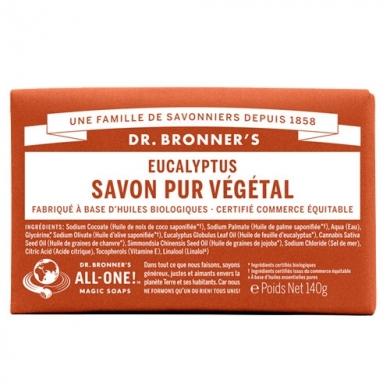 DR. BRONNER'S - Savon Solide Eucalyptus