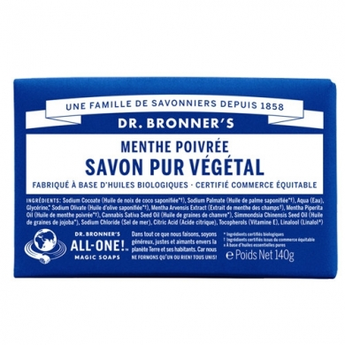 DR. BRONNER'S - Savon Solide Menthe