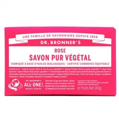 DR. BRONNER'S - Savon Solide Rose