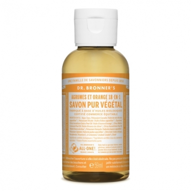 DR. BRONNER'S - Gel Lavant Citron-Orange