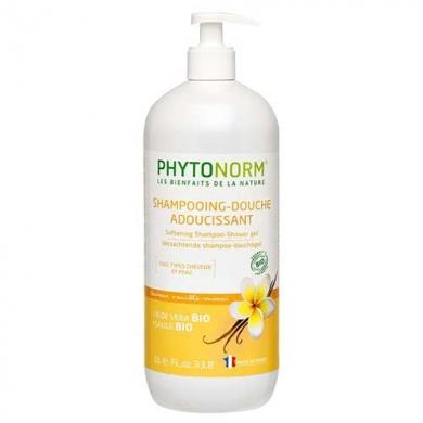 PHYTONORM - Shampooing-douche adoucissant Vanille-Monoï