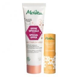 Kit Nectar de Miel Crème mains et stick lèvres
