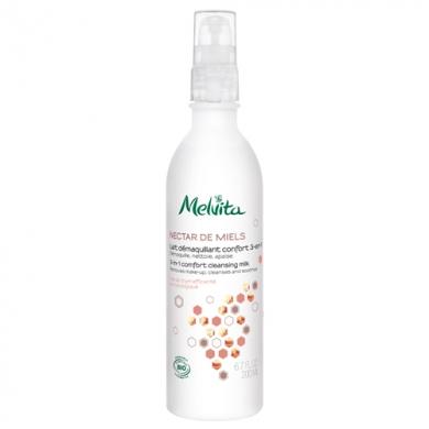 MELVITA - Lait démaquillant Nectar de Miel