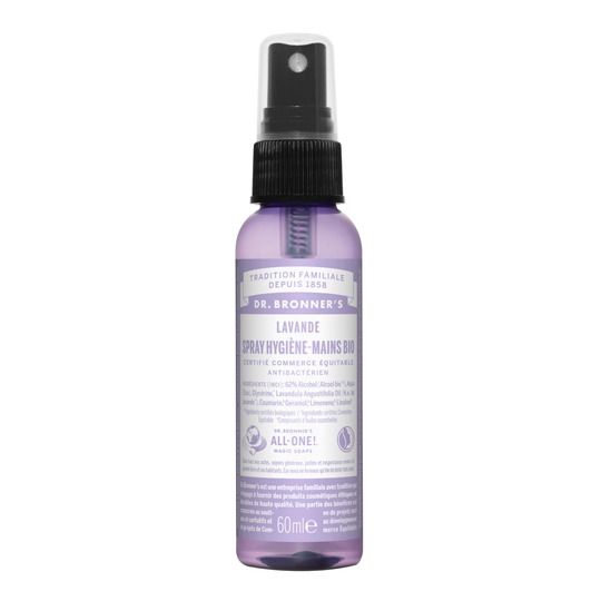 Spray Hygiène Mains Lavande