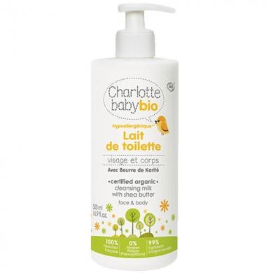 CHARLOTTE BABY BIO - Lait de Toilette Bébé