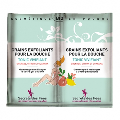 SECRETS DES FEES - Grains Exfoliant pour la Douche Tonic Vivifiant
