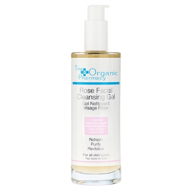 THE ORGANIC PHARMACY - Gel nettoyant rose