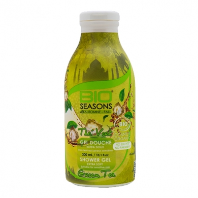 BIO SEASONS -  Gel douche thé vert