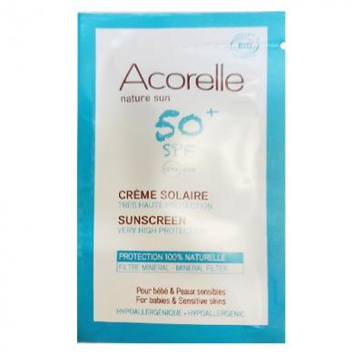 Echantillons - Crème Solaire Bébé SPF 50+