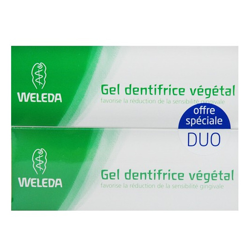 Duo Dentifrice Gel Végétal Weleda