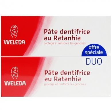 Duo Pâte Dentifrice Ratanhia