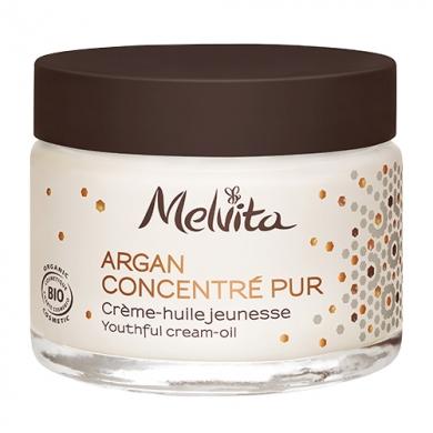 MELVITA - Crème-Huile Jeunesse Argan Concentré Pur