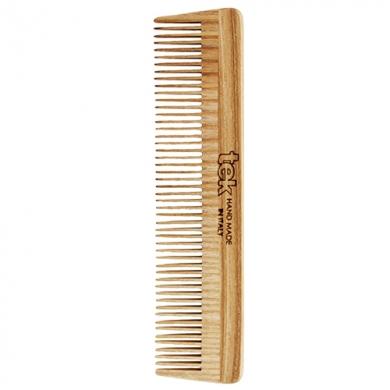 TEK - Petit peigne à dents serrées frêne naturel