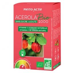 Acérola bio 1000 sans sucre