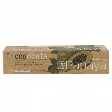 ECODENTA - Dentifrice papaye blanchissant