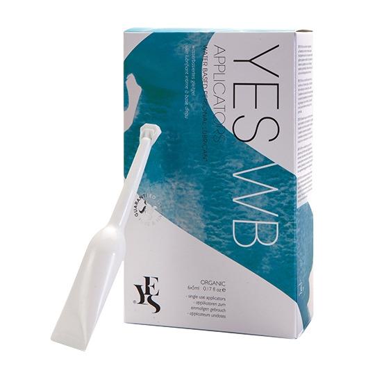 Soin lubrifiant intime à base d'eau applicateurs