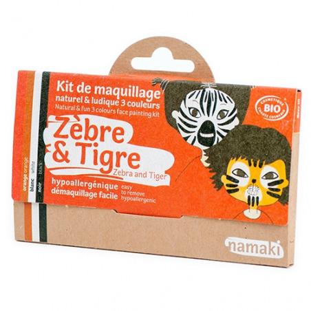 Kit 3 Couleurs Zèbre & Tigre