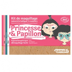 Kit maquillage 3 couleurs princesse & papillon