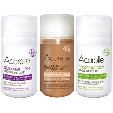 Offre déodorants Acorelle