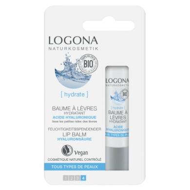 LOGONA - Baume lèvres à l'acide hyaluronique