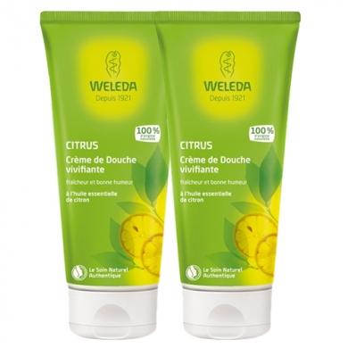 WELEDA - Duo Crème douche au Citrus