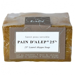 Pain d'alep laurier 25%