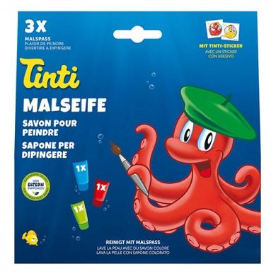 TINTI - Boite de 3 savons pour peindre