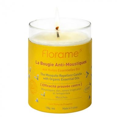 FLORAME - Bougie anti-moustiques 100% naturelle