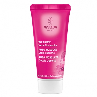 WELEDA - Crème Douche Rose Format Voyage