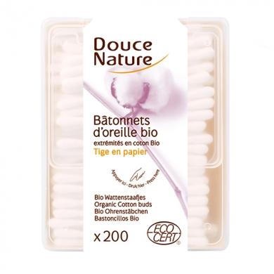 DOUCE NATURE - Bâtonnets d'oreilles Bio