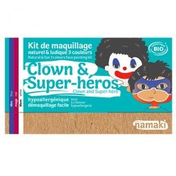 Kit 3 Couleurs Clown & Super-Héros