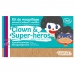 Kit 3 Couleurs Clown & Super-Héros
