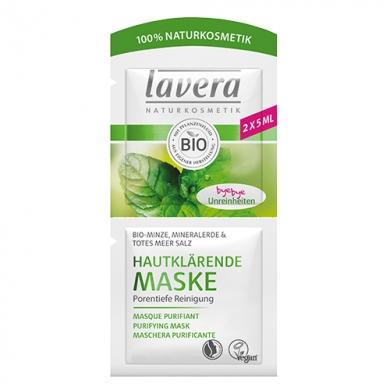 LAVERA - Masque nettoyant purifiant à la menthe