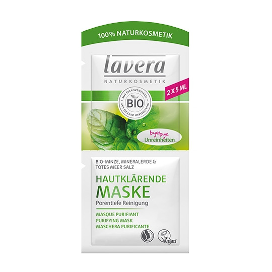 Masque nettoyant purifiant à la menthe