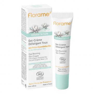 FLORAME - Gel-Crème Défatigant Yeux - Hydratation