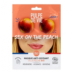 Sex on the peach - masque en tissu antioxydant