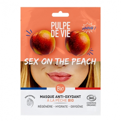 PULPE DE VIE - Sex on the Peach - Masque en Tissu Antioxydant