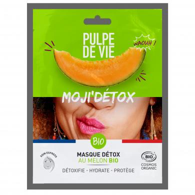 PULPE DE VIE - Moji'Detox - Masque en Tissu Détox