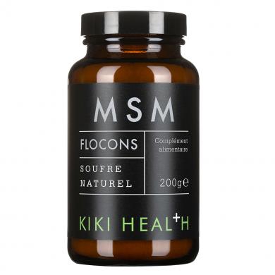 KIKI HEALTH - Flocons de MSM - Soufre Naturel