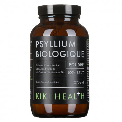 KIKI HEALTH - Poudre de Psyllium Biologique