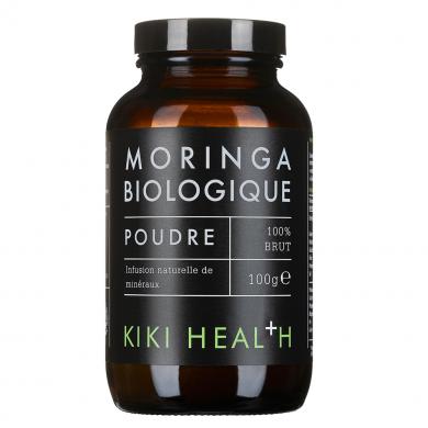 KIKI HEALTH - Poudre de Feuilles de Moringa Biologique