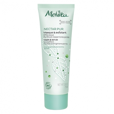 MELVITA - Masque & Exfoliant Purifiant