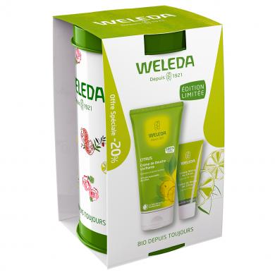 WELEDA - Coffret Citrus Douche & Crème Mains