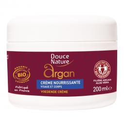 Crème nourrissante visage & corps à l'huile d'argan