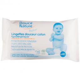 Lingettes bébé biodégradables